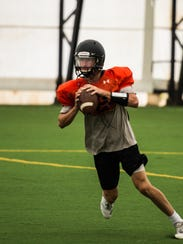 Grant Haus was the frontrunner for the starting quarterback