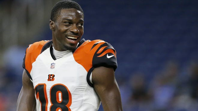 The Enquirer/Sam Greene A.J. Green is on a Hall of Fame track after  his first six seasons in the league. A.J. Green is on a Hall of Fame track after his first six seasons in the league.