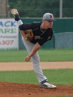 Remington's Brandon Propes kept Lafayette off the board for the first seven innings Saturday.