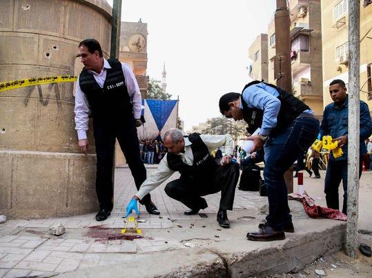 EGYPT-UNREST-CHURCH-ATTACK