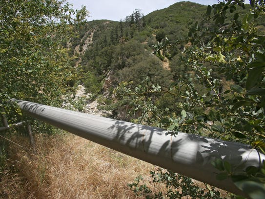 Nestle's piped 36 million gallons from the San Bernadino