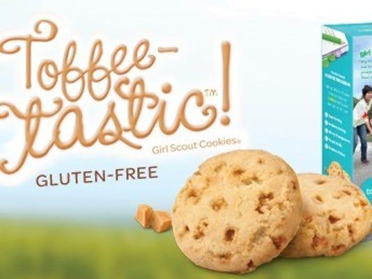 Toffee-tastic cookie