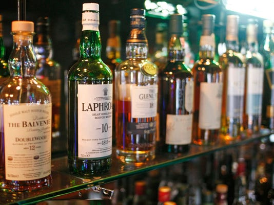The Night Deposit Whiskey Library