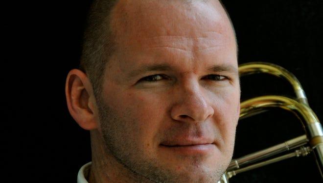 Trombonist Mark Hetzler