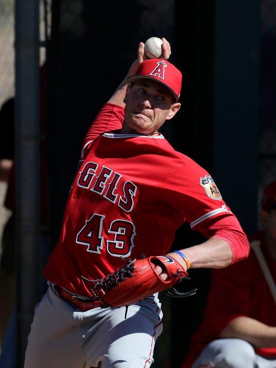 USP MLB: LOS ANGELES ANGELS-WORKOUTS S BBA USA AZ