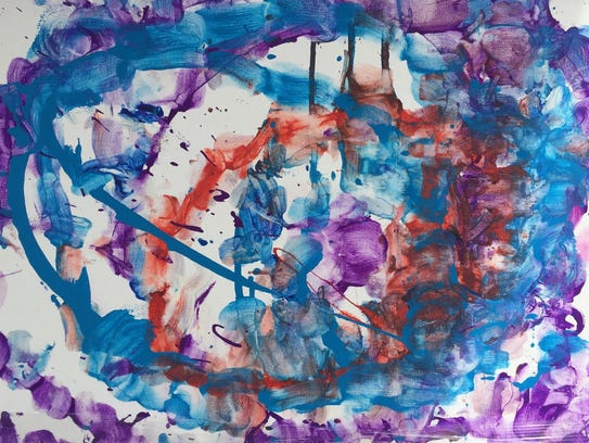 More than 100 rare abstract paintings will go on sale