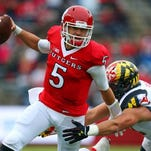 Rutgers quarterback Chris Laviano threw a career-high four touchdown passes Saturday but still got booed.