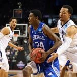 Dylan Smith, 24, scored 13 points for UNC Asheville on Friday.