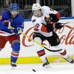 Rangers lose to Senators, survive Lundqvist injury scare