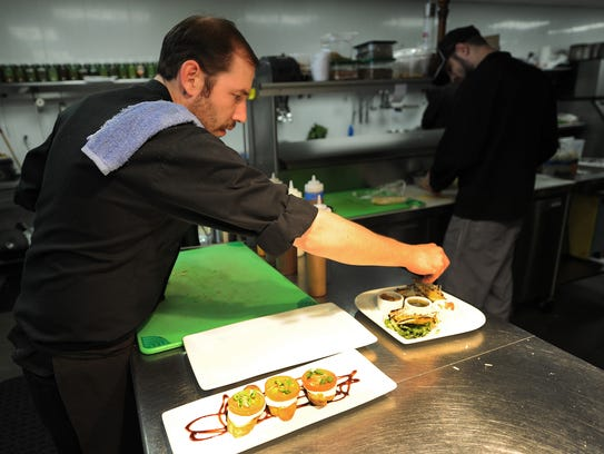 Joseph Schmidt, executive sous chef at The Cannery