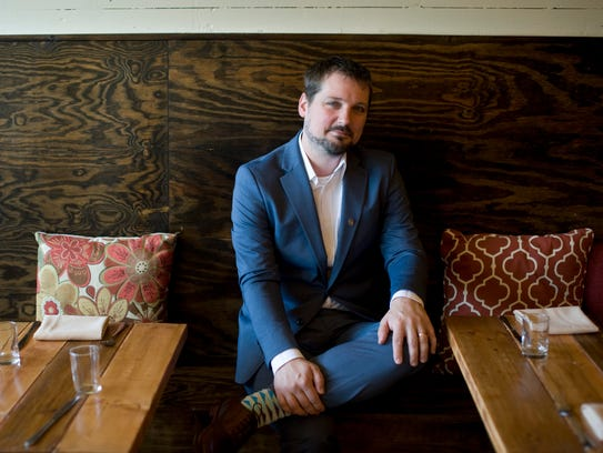 Justin King, owner and general manager of Bridge Street