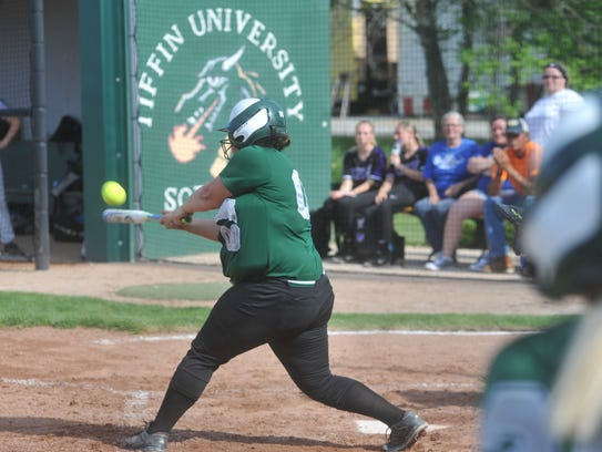 Egypt Murphy went 2-for-3 with an RBI in the regional