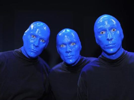 Blue Man Group will play the Peace Center in May.