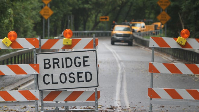 The bridge is expected to be closed for two weeks.