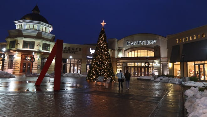 People arrived at all different times to do their Black Friday shopping at Eastview Mall.