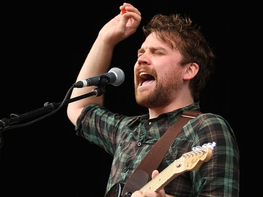 Scott Hutchison will perform with Frightened Rabbit on April 29 at the Vogue.