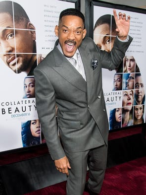 NEW YORK, NY - DECEMBER 12:  Actor Will Smith attends