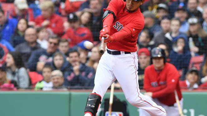 Utility man Tzu-Wei Lin has played in 101 games for the Boston Red Sox over the past four seasons.