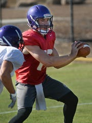 Adam Friederichsen, a Westlake Village native, is back for a third year as the starting quarterback for Cal Lutheran.