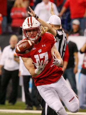 Although he hasn't started any games, UW linebacker Andrew Van Ginkel is expected to be a leader for the Badgers.