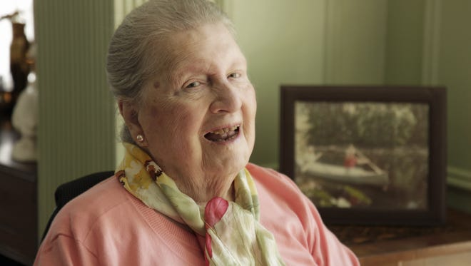 Arts philanthropist Louise Nippert, who died at age 100 in 2012.