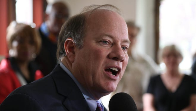 Detroit Mayor Mike Duggan said residential shut-offs will resume when the current moratorium on cutting services to residents ends on Aug. 25.