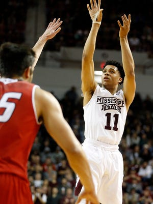 Mississippi State guard Quinndary Weatherspoon received SEC Freshman of the Week honors.