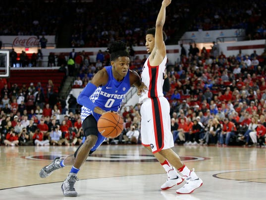 Malik Monk And De Aaron Fox Usa Today All Americans: De'Aaron Fox: 'It's Just Me And The Goal, And I Hit Them All
