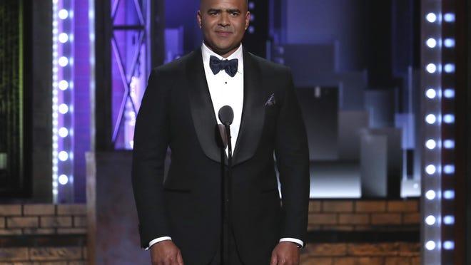 Christopher Jackson at the 2018 Tony Awards.