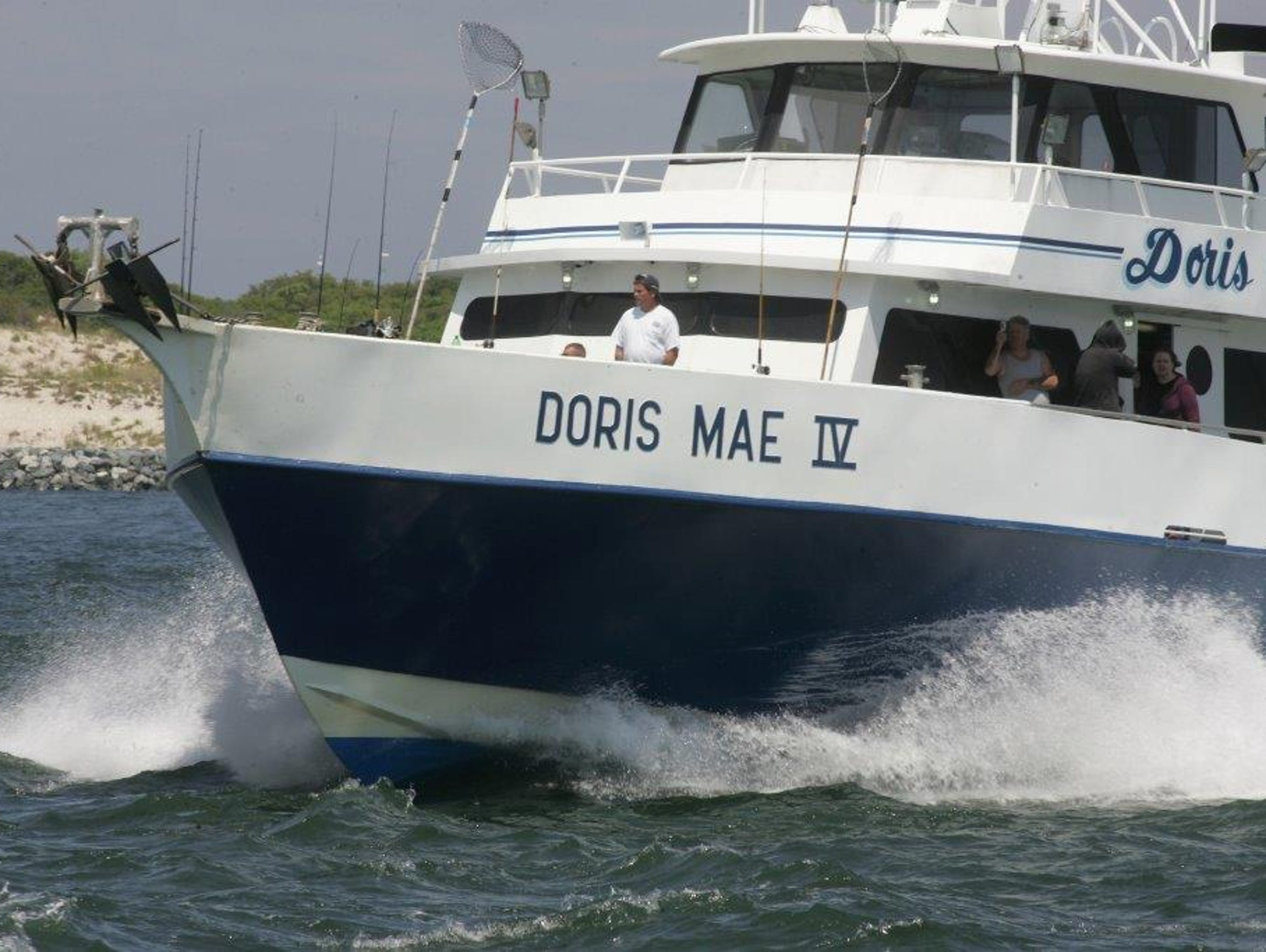 The Doris Mae IV was sold earlier this year.