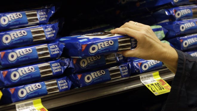 Oreo cookies in Los Angeles in 2011.