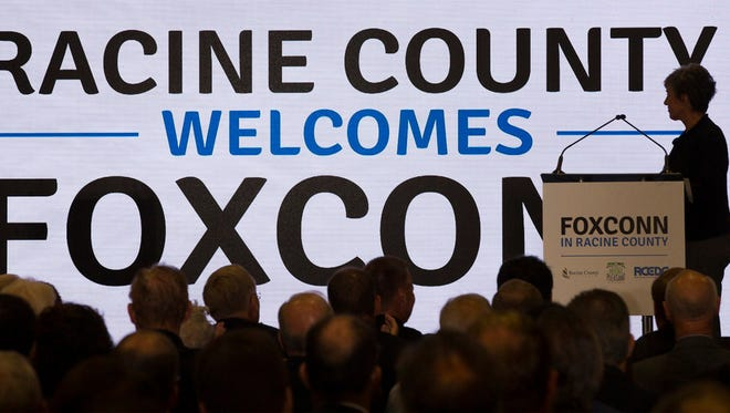 Foxconn Technology Group is planning to build a $10 billion, 20-million-square-foot electronics factory in the village of Mount Pleasant in Racine County.