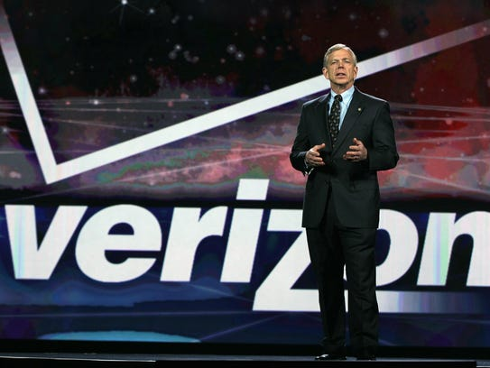 Verizon President and then-COO/now-CEO Lowell McAdam