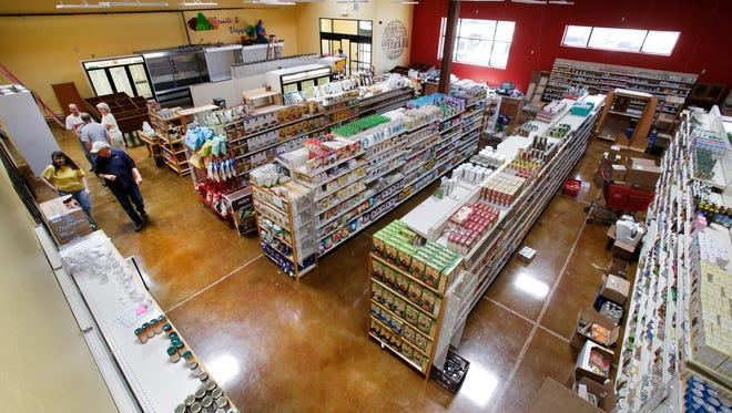 The Free Market in Appleton was one of a number of grocery stores that opened in 2014. It moved from a smaller leased location and tripled its size. Dan Powers photo.