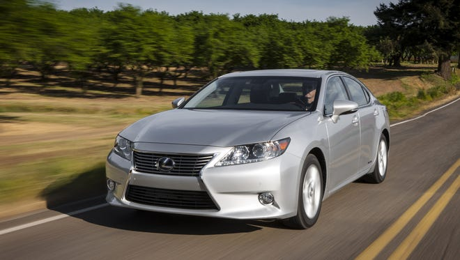 Lexus was the top brand and this Lexus ES was one of the top individual models.
