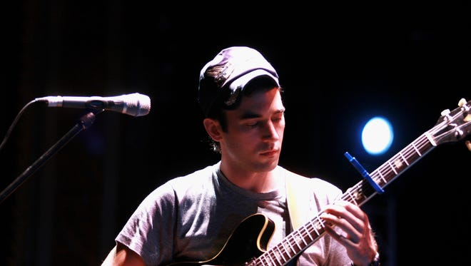 "Sufjan Stevens  attends rehearsals during a photo call for ""Jazz In The Domain"" as part of the 2008 Sydney Festival in the Domain on January 12, 2008 in Sydney, Australia."