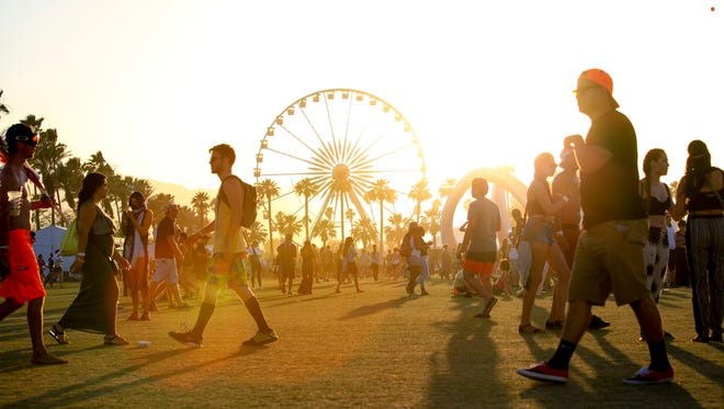 April's Coachella lineup includes Jack White, Florence and the Machine and AC/DC, among dozens of others.