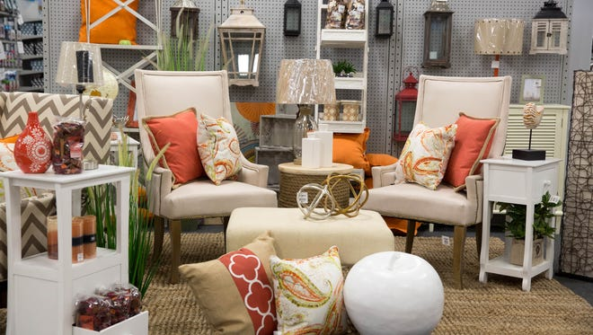 The new At Home store Thursday, April 9, 2015, in Clive. The store is in the location of the old Kmart.