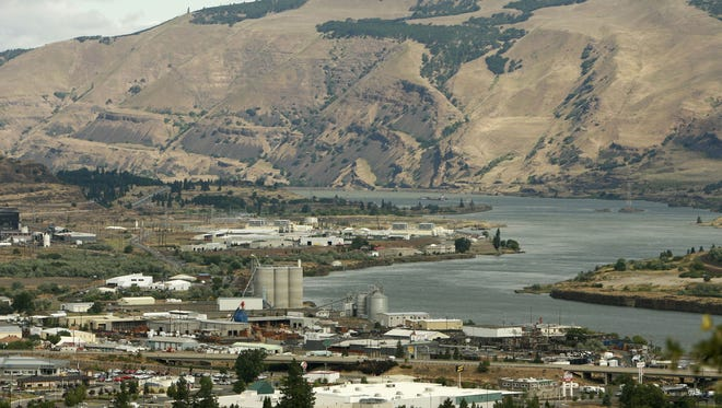 The Columbia River June 15, 2006 in The Dalles, Oregon.