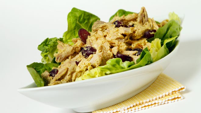 Chicken salad is a welcome addition to any brunch menu.