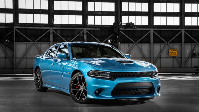 A refreshed 2015 Dodge Charger R/T Scat Pack. As it retools its portfolio, Dodge had an 8.9% gain in estimated average transaction prices in April.