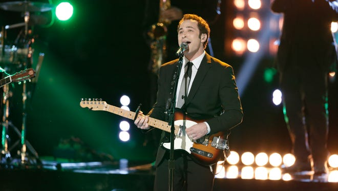 """The Voice"" presented its top six contestants Monday night, including Michigan's Joshua Davis."