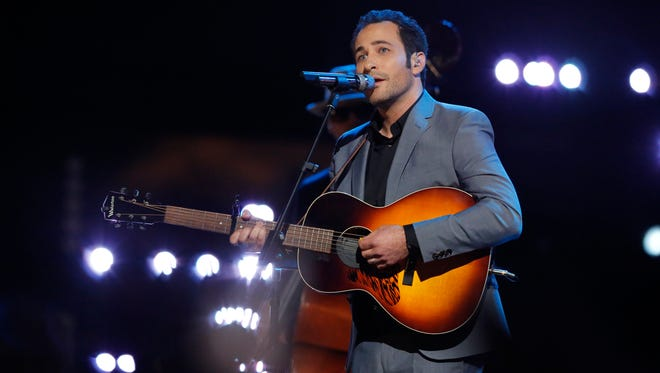 Joshua Davis rocks 'The Voice' top five on NBC.
