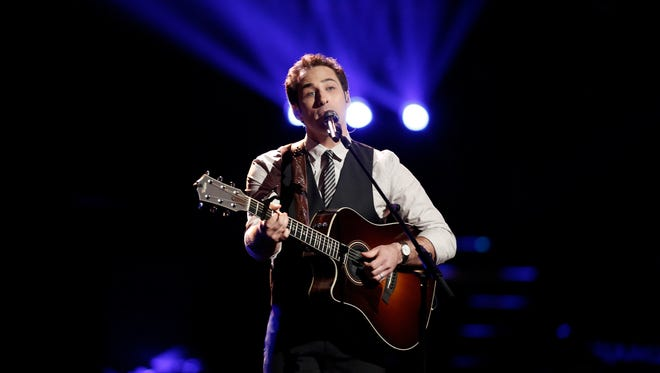 "Joshua Davis has made it into the finals on NBC's ""The Voice."""