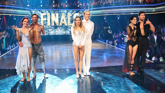 One of three finalist couples was crowned the winner of Season 20 of ABC's 'Dancing with the Stars' Tuesday.