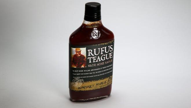 Rufus Teague Whiskey Maple BBQ sauce.