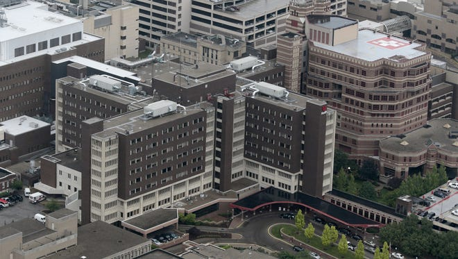 University of Cincinnati Medical Center and Mercy Health are among the hospitals not allowing visitors under the age of 14, according to Shannon Schmitt with the Health Collaborative.
