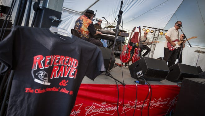 Reverend Raven & The Chain Smoking Altar Boys played Oshkosh's Sawdust Days in 2015, and now they'll play Ripon's Summer Concert Series on Aug. 17.