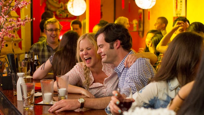 Amy Schumer's character loves the bottle in 'Trainwreck.'