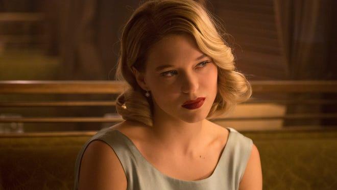 Lea Seydoux stars as Madeleine Swann in the new James Bond film 'Spectre.'